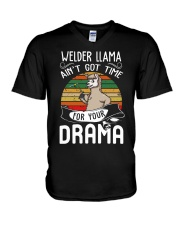 AIN'T GOT TIME FOR YOUR DRAMA V-Neck T-Shirt thumbnail