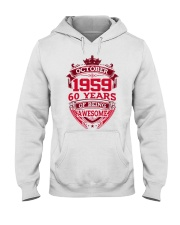HAPPY BIRTHDAY OCTOBER 1969 Hooded Sweatshirt thumbnail