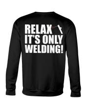 HOW TO WELDER RELAX Crewneck Sweatshirt thumbnail