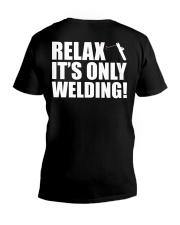 HOW TO WELDER RELAX V-Neck T-Shirt thumbnail