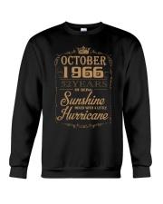 OCTOBER 1966 OF BEING SUNSHINE AND HURRICANE Crewneck Sweatshirt thumbnail