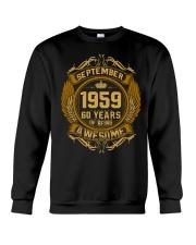 Happy Birthday sep 1959 Crewneck Sweatshirt thumbnail