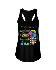 DECEMBER GIRLS ARE LIKE BOMBS Ladies Flowy Tank thumbnail