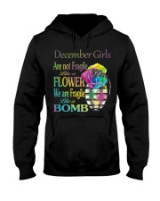 DECEMBER GIRLS ARE LIKE BOMBS Hooded Sweatshirt thumbnail