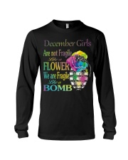 DECEMBER GIRLS ARE LIKE BOMBS Long Sleeve Tee thumbnail