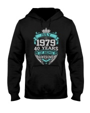 Birthday Gift July 1979 Hooded Sweatshirt tile