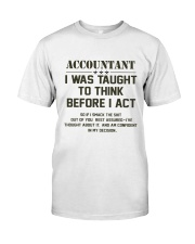 ACCOUNTANTS EDITION Classic T-Shirt tile