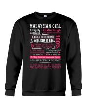 MALAYSIAN GIRL Crewneck Sweatshirt thumbnail