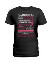MALAYSIAN GIRL Ladies T-Shirt thumbnail