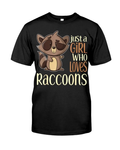 Just a girl who loves Raccoons