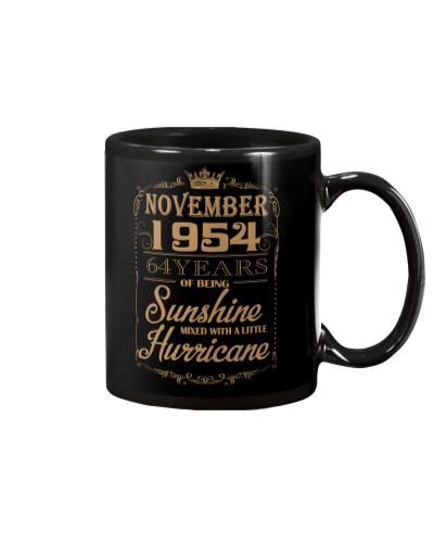 HAPPY BIRTHDAY NOVEMBER 1954