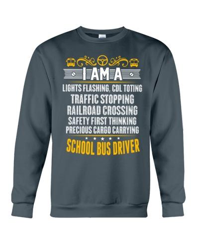 I AM A SCHOOL BUS DRIVER