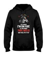 WELDER IS ON FIRE Hooded Sweatshirt thumbnail