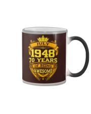 HAPPY BIRTHDAY JULY 1948 Color Changing Mug thumbnail