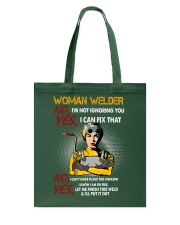 STRONG WELDER WOMAN Tote Bag thumbnail