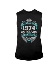 Birthday Gift September 1974 Sleeveless Tee thumbnail