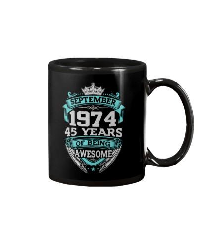 Birthday Gift September 1974