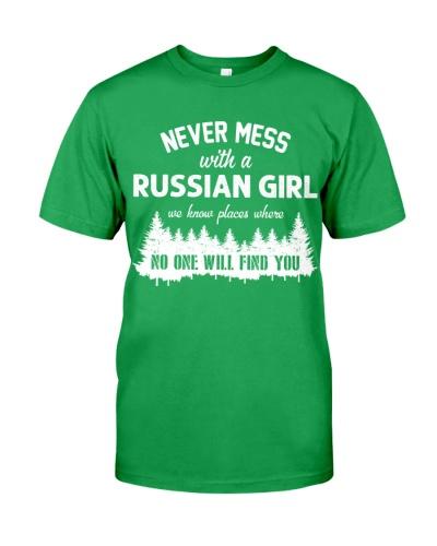 NEVER MESS WITH RUSSIAN GIRL