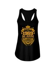 Buon compleanno agosto 1969 Ladies Flowy Tank thumbnail