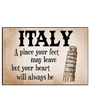 ALWAYS REMEMBER ITALY 17x11 Poster front