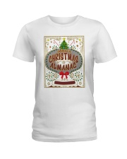 CHRISTMAS ALMANAC Ladies T-Shirt tile