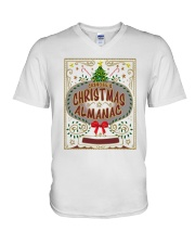 CHRISTMAS ALMANAC V-Neck T-Shirt tile