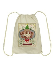 CHRISTMAS ALMANAC Drawstring Bag tile