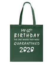 THE 60TH BIRTHDAY IN 2020 Tote Bag thumbnail
