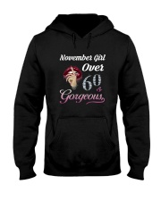 BIRTHDAY NOVEMBER 60 Hooded Sweatshirt thumbnail