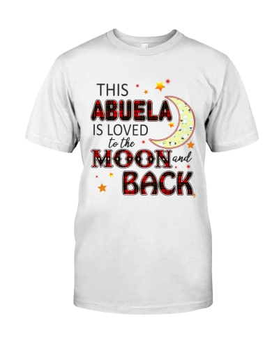 LOVED TO THE MOON AND BACK ABUELA EDITION