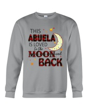 LOVED TO THE MOON AND BACK ABUELA EDITION Crewneck Sweatshirt thumbnail