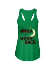 LOVED TO THE MOON AND BACK ABUELA EDITION Ladies Flowy Tank thumbnail