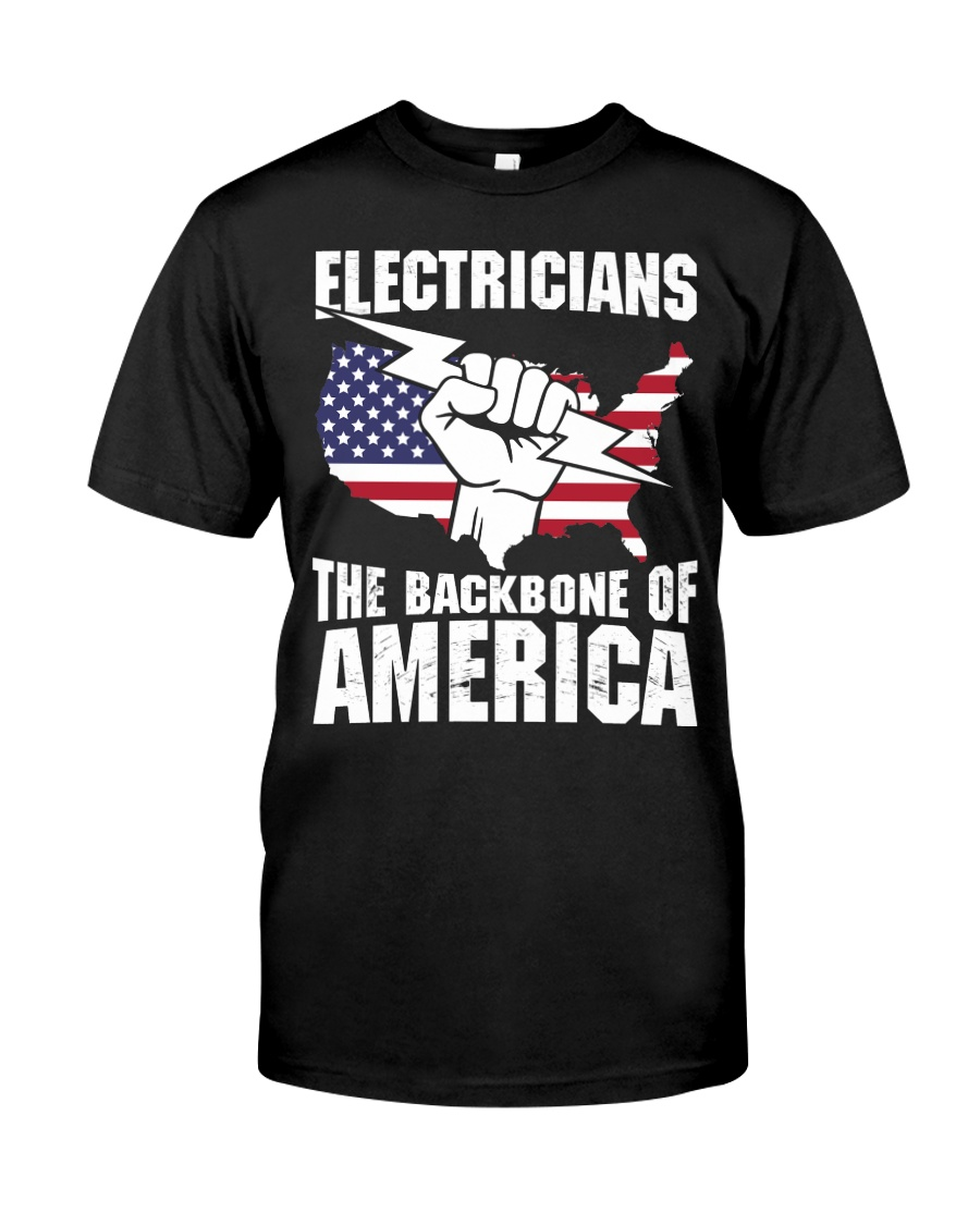 BACKBONE OF AMERICA Classic T-Shirt