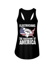 BACKBONE OF AMERICA Ladies Flowy Tank thumbnail