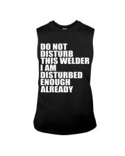 DON'T DISTURB THIS WELDER Sleeveless Tee thumbnail