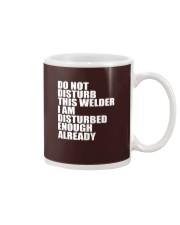 DON'T DISTURB THIS WELDER Mug thumbnail