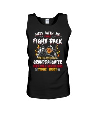 NEVER MESS WITH GRANDDAUGHTER Unisex Tank thumbnail