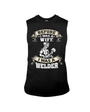 BEFORE I WAS A WIFE I WAS A WELDER Sleeveless Tee thumbnail