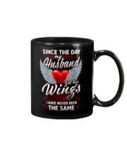 MY HUSBAND GOT HIS WINGS Mug thumbnail