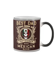BEST DAD WAS BORN IN SEPTEMBER Color Changing Mug thumbnail