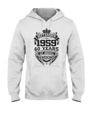 HAPPY BIRTHDAY SEPTEMBER 1959 Hooded Sweatshirt thumbnail