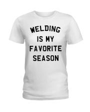 MY FAVORITE SEASON Ladies T-Shirt thumbnail