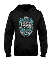 HAPPY BIRTHDAY NOVEMBER 1958 Hooded Sweatshirt thumbnail