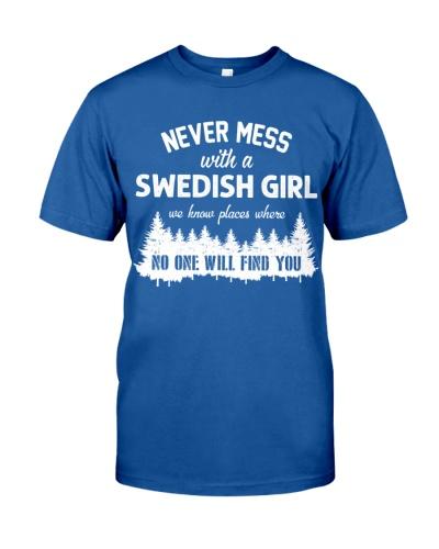 NEVER MESS WITH SWEDISH GIRL