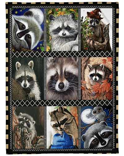 Nice design for Raccoon lovers