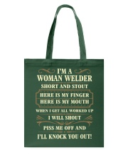 WOMAN WELDER Tote Bag thumbnail