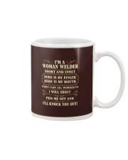 WOMAN WELDER Mug thumbnail