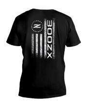 300ZX AMERICAN FLAG EDITION 2 V-Neck T-Shirt thumbnail