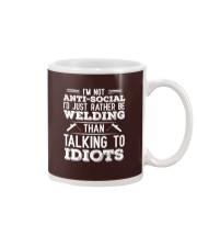 DON'T TALK TO IDIOTS Mug thumbnail