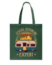 THE SOCIAL DISTANCING EXPERT Tote Bag thumbnail